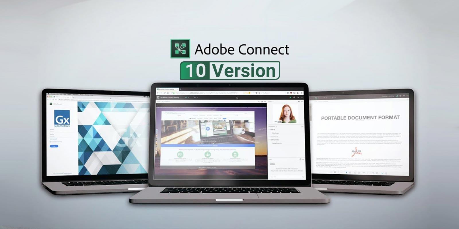 دانلود نرم افزار Adobe Connect 10.6 Adobe Connect وبینار